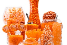 оранжевый candy bar