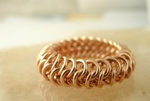 Chain Maille - Tuts - Rings / by Sherry Fox
