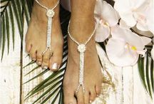 Destination Wedding Foot Jewelry