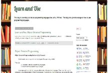 Learn and Use / Easy way to learn programming languages like java, php.. http://learnnuse.blogspot.in/