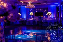 Elegant Wedding Lighting / Portfolio of gorgeous, bold wedding lighting at receptions throughout NJ and NYC. Wedding lighting and decor by Eggsotic Events. www.eggsoticevents.com www.eventdecornj.com