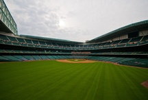 Outside decorations at Minute Maid Park / Corporate Event setup at Minute Maid Park in Houston, Texas #corporateEvents #photography #eventphotography #baseball #Astros