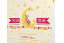 Baby-Karten / Schöne Baby-Karten gestalten
