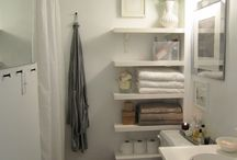 Itty bitty bathroom ideas / ideas for our bathroom remodel / by Karol Sledge