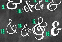 Fonts & Downloads / by Mimi Speyerer