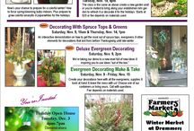 Great Gardening Classes / Enjoy one of these seasonal classes from Drummers Garden Center & Floral. Please call to register.