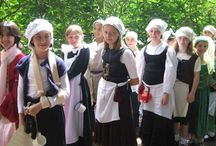 Kentwell Hall 2014 - The Gower School / Upper School children enjoyed their trip back in time to 1578 at Kentwell Hall and living as Tudors for the day. What a wonderful experience!