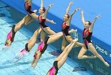 synchronized swimming / su balesi