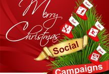 Social Media Christmas Ideas & Tips / Here's a selection of simple ideas and top tips to get your  Christmas & New Year social media campaigns going...
