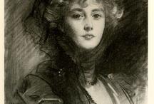 Singer Sargent Sketches