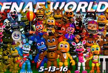 FNAF World / I love fnaf world! All fnaf characters are so cute! >u<
