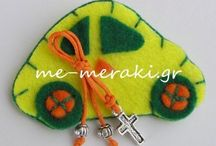 Μαρτυρικά βάπτισης με τσόχα / Μαρτυρικά βάπτισης Handmade mpomponiera, martirika for christening. Μαρτυρικά και μπομπονιέρες γάμου - βάπτισης ξεχωριστές, ιδιαίτερες δημιουργίες, όλα χειροποίητα φτιαγμένα με αγάπη και Με Μεράκι... Μαρτυρικά χειροποίητα με τσόχα.   Μαρτυρικά με τιμές στην ιστοσελίδα www.me-meraki.gr
