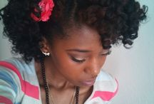 Natural Hair / Just a collection of natural hair styles & products > focusing on quick, frugal solutions for 4c hair. / by Jackie Kiadii