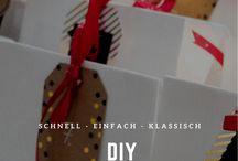 DIY / Basteln mit Kindern. Bastelideen für Ostern, Weihnachten und Kindergeburtstag.