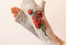 Felted clothes and accessories