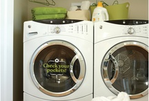 laundry room / by Mandy Moss Durham