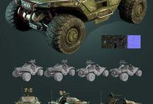 military equipment sci-fi