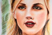 My drawings / Aquarelle and pencils