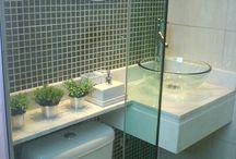 Banheiros X lavabos