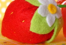 Felt Strawberry & Lemon