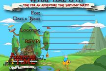 Adventure Time Bday Party  / by Tisha Wilson