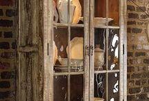 Muebles antiguos y decapados