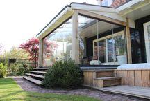 Villa te Reeuwijk / Aanbouw tuinkamer
