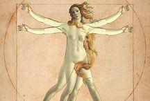 Bizzarrie / Chimere, ibridi, parodie, pastiches, fictional crossover / by Maria Letizia Verola