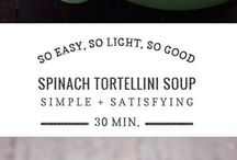 Soup-spinach