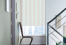 Blinds: Retro & Stripes / We have a selection of colourful stripes and chevron patterns that will give your room a funky and trendy look.