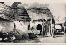 RAPHAËL PAULEAU, photos éditées en cartes postales / Dans les années 1950, Raphaël Pauleau, qui tenait une boutique à Foumban, Cameroun, parcourait la région et prenait des photos qu'il éditait ensuite en cartes postales.