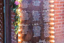 Wedding Table Plan/Seating