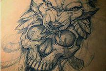 apocalypse sleeve tattoo
