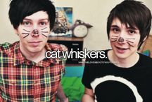 #Phan / Dan and phil >·< They come from within.