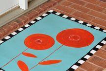 Floor cloth / by Anna Martinez-Argento