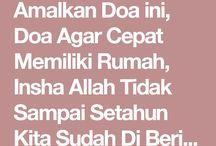 amalan doa