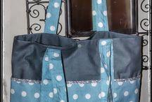 sac pois bleus