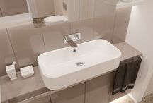 Invictus L - Luxurious style in Simplest form / Invictus L - Washbasin with Luxurious style in Simplest form. Made of GelCeramic available in glossy or mat White, - Pergamon Beige or - Black Galaxy Granite.