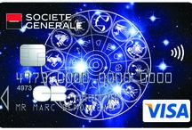 Cartes Collection Zodiaque / Carte #Visa Zodiqaque #SocieteGenerale