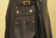 mens leather kilts