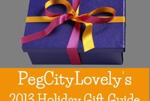 2013 Holiday Gift Guide Roundup / A collection of Holiday Gift Guides hosted by PegCityLovely / by PegCityLovely