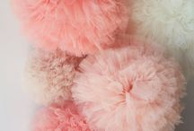 Pompon tulle