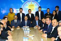 AK Parti Milletvekili Adayları ile Atakum İlçe Başkanlığı Ziyareti