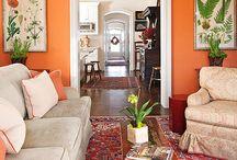 oranssit seinät