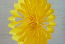 flower using paper