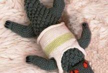 Pletené a háčkované hračky