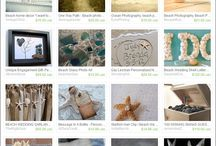 Etsy Treasuries Featuring our Beach Handicrafts on A2SeaCreations.com / On Etsy, many people create 'treasuries' that showcase some of their favorite items or a particular theme or colour. If you click on them, they will open up right on Etsy where they can be viewed larger and individual items may be purchased, if desired.