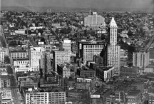 Old Seattle / Old photos of the beautiful #northwest #city of #Seattle