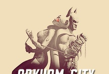 Batman Arkham  / by Garfield Lynns