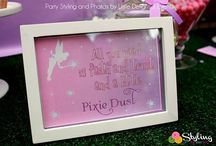 Tinkerbell and Fairy Party Ideas / Ideas for a Tinkerbell and or fairy party. / by Styling the Moment